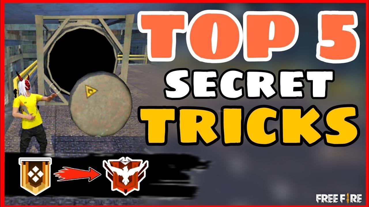 Download Top 5 Secret Tricks || Part-7|| Tips and Tricks Garena Free Fire -4G Gamers
