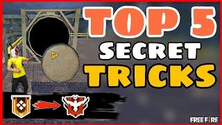Top 5 Secret Trİcks || Part-7|| Tips and Tricks Garena Free Fire -4G Gamers