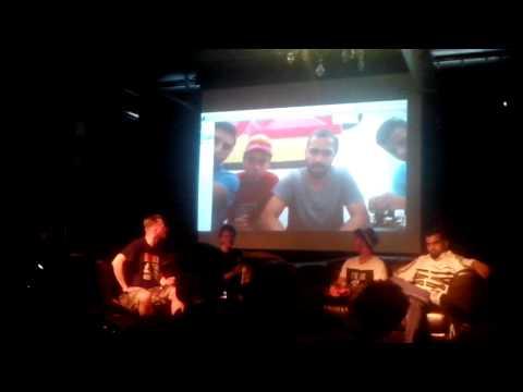 Camps Breakerz Crew (GAZA) Live via Skype | The Notorious IBE 2015 | Stefani