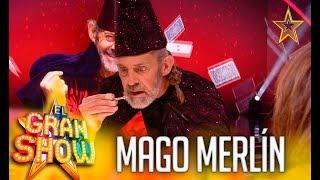 EL MAGO MERLÍN se reencuentra con su NOVIA, PAZ PADILLA | El Gran Show | Got Talent España 2019
