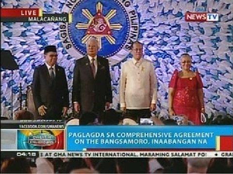 Comprehensive Agreement on the Bangsamoro, nakatakdang lagdaan ng MILF at ng gobyerno ng Pilipinas