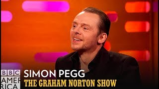 Simon Pegg Has Completed The Nerd Trifecta - The Graham Norton Show