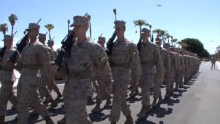 Fox Company Close Order Drill MCRD San Diego