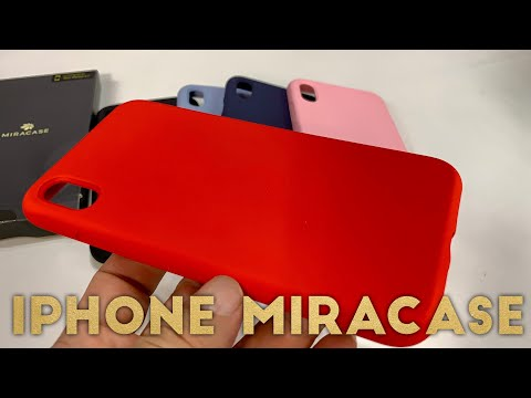Miracase Liquid Silicone iPhone Protective iPhone Case Review