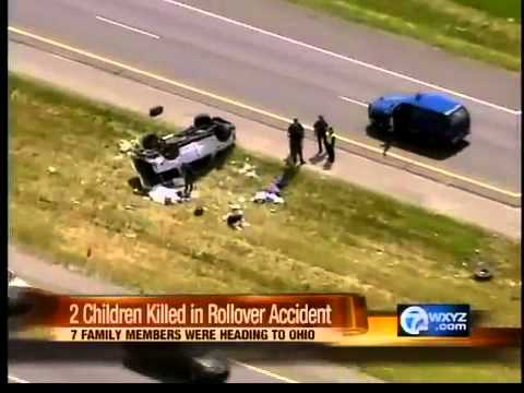 Two children killed in rollover accident on US 23