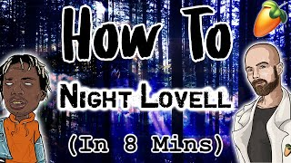 From Scratch: A Night Lovell song in 8 minutes | FL Studio trap tutorial