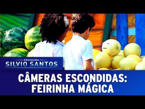 Frutas Falantes 2 Feirinha Mágica - Talking Fruit 2 | Câmeras Escondidas (03/12/17)
