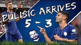 Chelsea 5 - 3 RB Salzburg || Christian Pulisic Arrives !