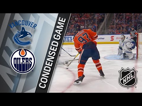 01/20/18 Condensed Game: Canucks @ Oilers