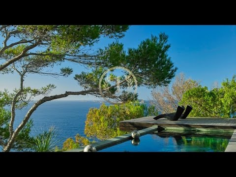Exceptional seafront villa with amazing sunset - Luxury Villas Ibiza