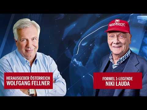 Niki Lauda im großen oe24.TV-Interview