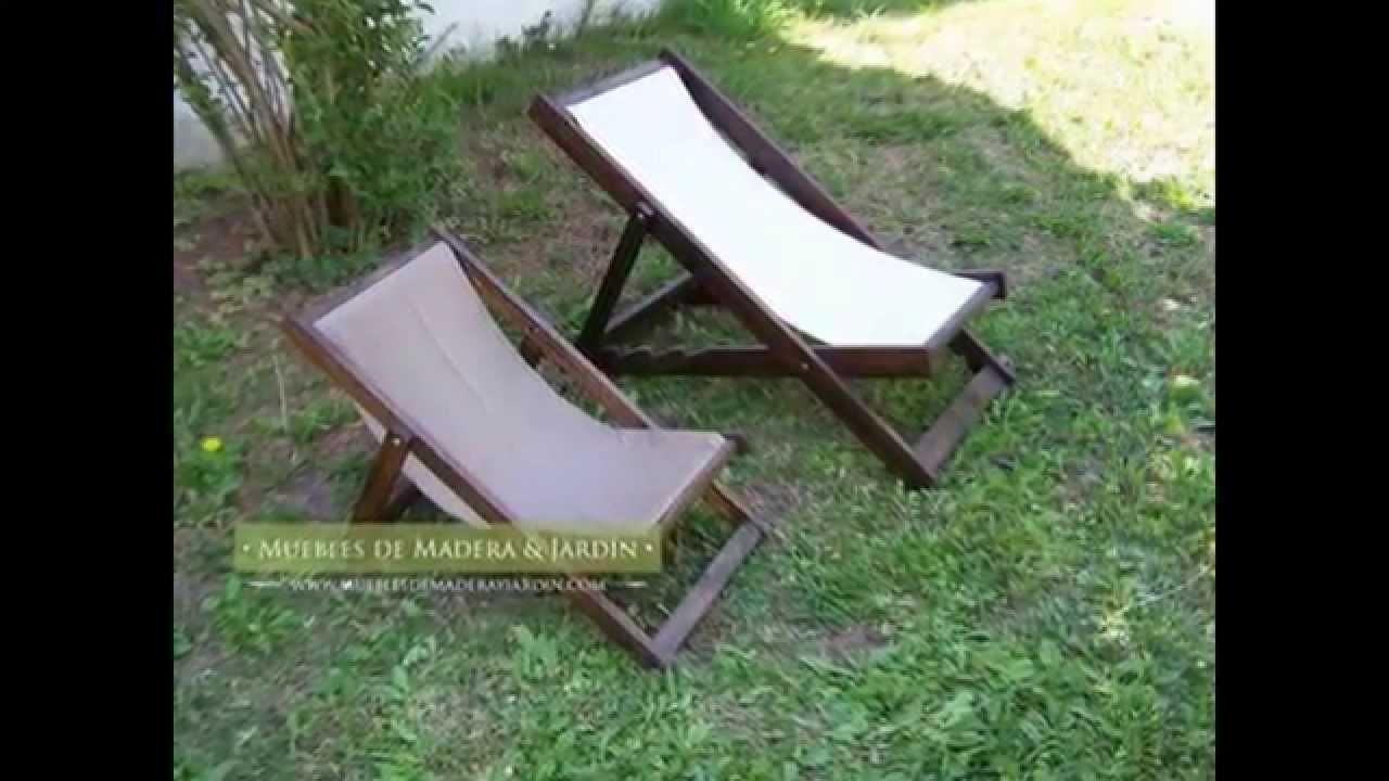 Reposeras infantiles muebles de madera y jard n com for Muebles para jardin en madera