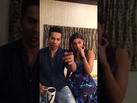 Varun Dhawan & Alia Bhatt | Live on Facebook | Badrinath Ki Dulhania