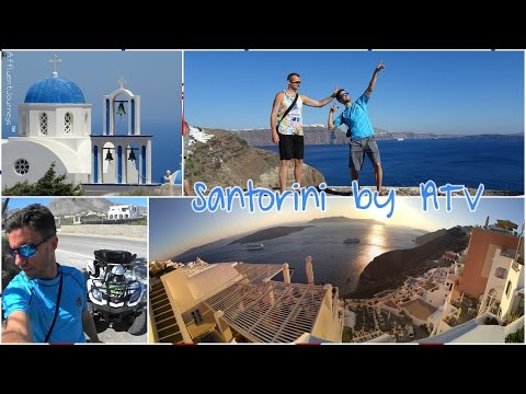 Royal Princess Day 2: Santorini Full Tour by ATV