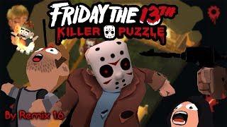 VIERNES 13 *GRATIS* | FRIDAY THE 13th KILLER  PUZZLE  #1| GAMEPLAY ESPAÑOl