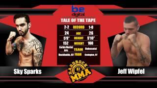 Hardrock MMA 87 Fight 8 Jeff Wipfel vs Sky Sparks 160 Ammy