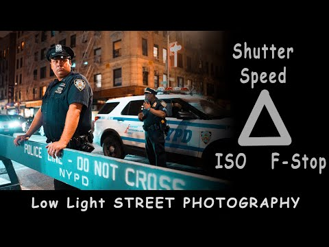Settings for low light STREET PHOTOGRAPHY | Film & Digital