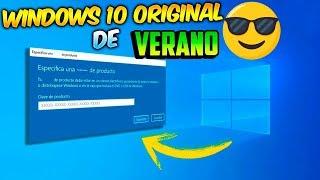 😱  Windows 10 Pro Totalmente LEGAL / Lo MAXIMO del VERANO!🤑