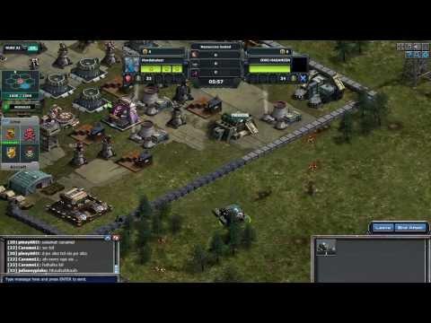 war commander crusader in attack