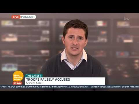 Johnny Mercer on Soldiers Falsely Accused of War Crimes | Good Morning Britain