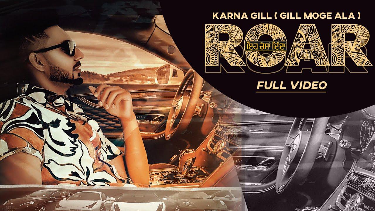 Download Roar   Karna Gill   Harley Josan   Full Video Song   Latest Punjabi Song 2020   Lit Gang