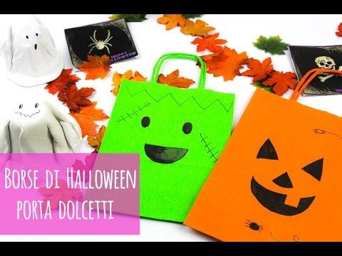 Lavoretti di halloween borse porta dolci youtube for Youtube lavoretti per bambini