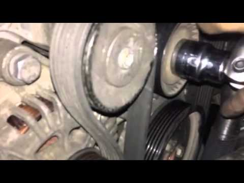 bmw x5 e53 2005 v belt diagram - YouTube