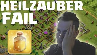 [facecam] HEILZAUBER FAIL || CLASH OF CLANS || Let's Play COC [Deutsch/German HD]