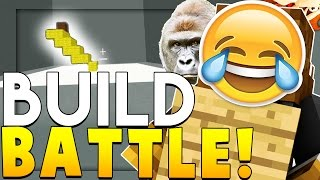 HARAMBE Minecraft THE BUILDING GAME