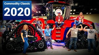 New QUADTRAC Revealed! & Leg Arms Hogging the Camera|Commodity Classic 2020