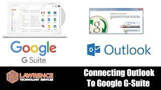 كيفية الاتصال Microsoft Outlook إلى Google ز جناح / Google Apps