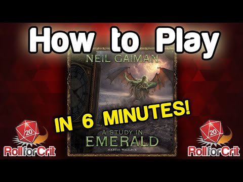 How to Play A Study in Emerald | Roll For Crit