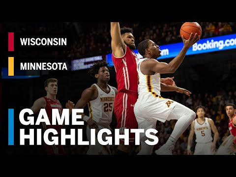 Video Highlights: MBB: Wisconsin 56, Minnesota 51
