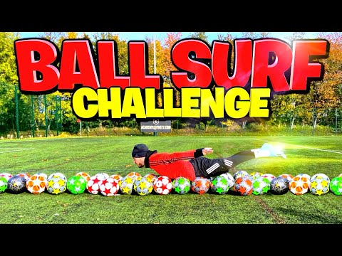 WORLD RECORD BALL SURF CHALLENGE! ⚽️🚀