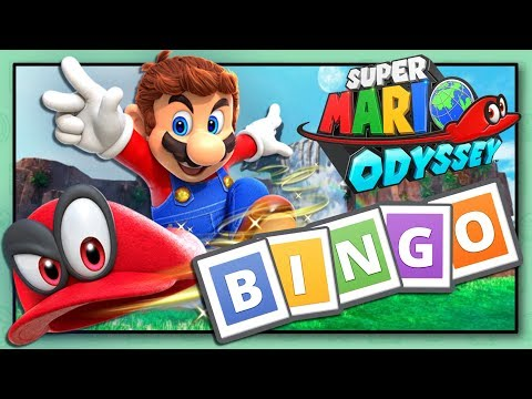 Super Mario Odyssey BINGO | A NEW Way Of Playing Mario Odyssey!!