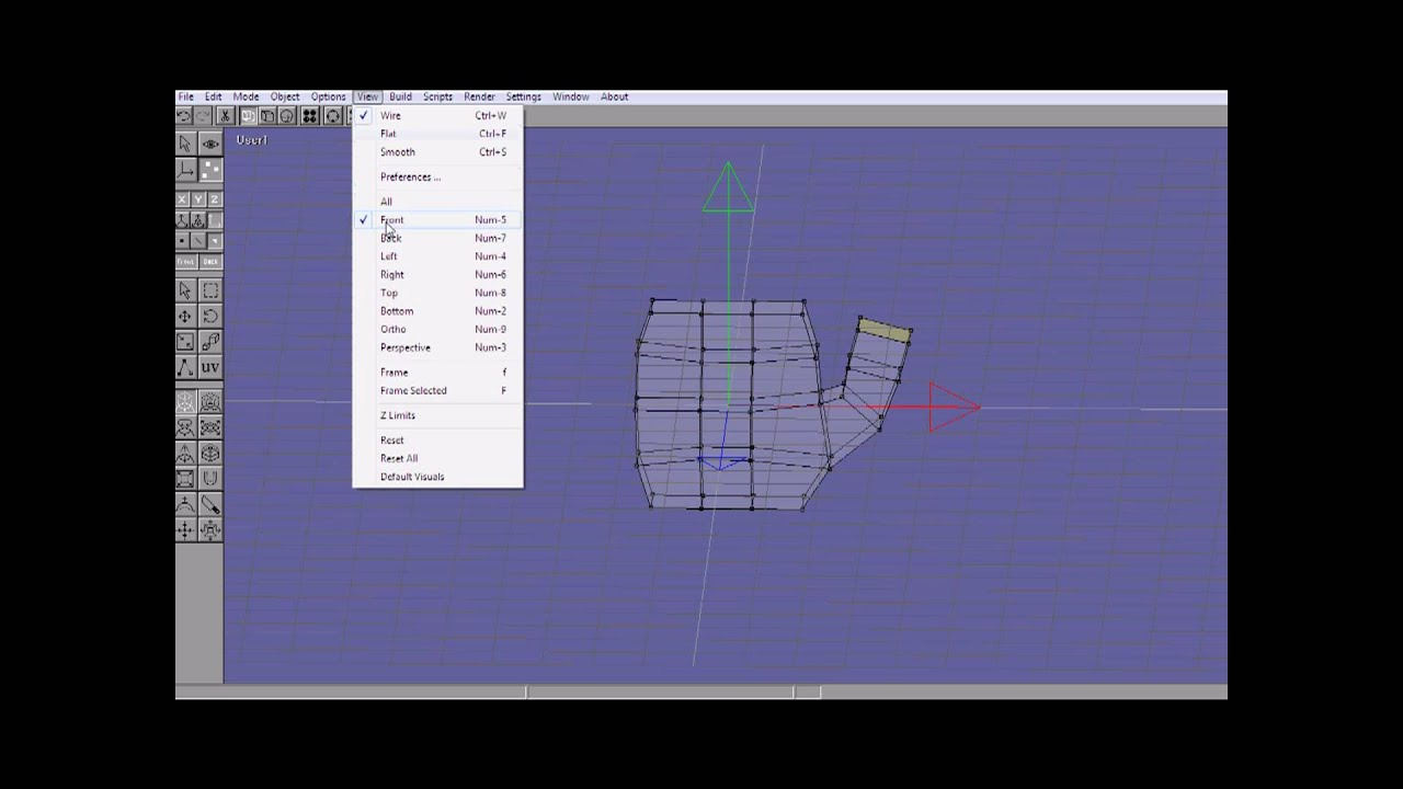 How to use anim8or? Tutorial 2: modeling a hand