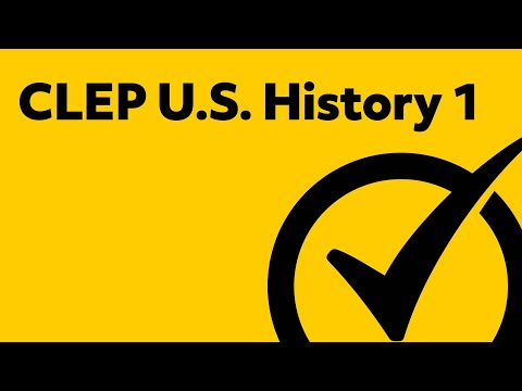Free CLEP U.S. History 1 Study Guide