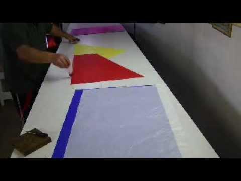 Como hacer globo aerostático sem cortar o papel - YouTube