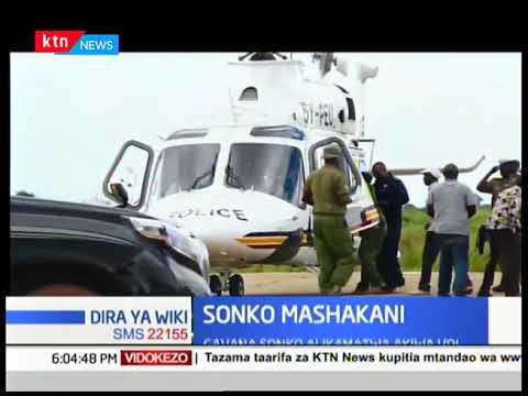 Gavana Sonko akamatwa akiwa Voi, asafirishwa kwa ndege hadi Nairobi