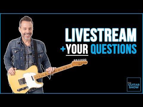 The Guitar Show w/ Erich Andreas - LIVE+Q&A