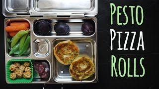 Pesto Pizza Rolls: Fun School Lunch & Easy Dinner | One Hungry Mama