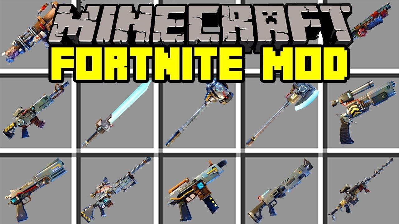 fortnite minecraft mod