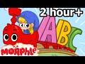Abc Song For Baby ( + 2 Hours Of Nursery Rhymes )  Songs For Children - Morphle's Nursery Rhymes video