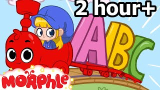 ABC Song For Baby ( + 2 Hours of Nursery Rhymes )  songs for children - Morphle