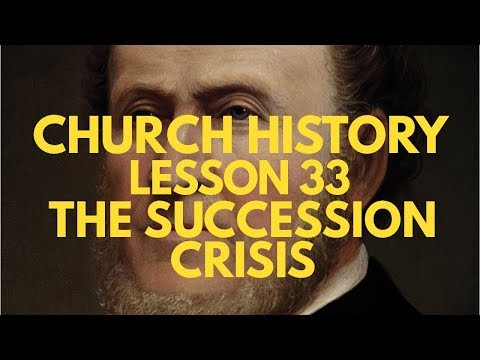 Lesson 33: President Brigham Young Leads the Saints -- Doctrine & Covenants and Church History