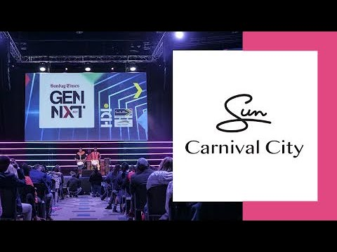 Carnival City interview at the 2019 Sunday Times Gen Next in South Africa
