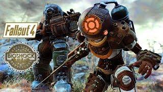 Fallout 4 - BIOSHOCK Inspired Bosses, Location, & More! - Submersible Power Armor Redux - Xbox & PC