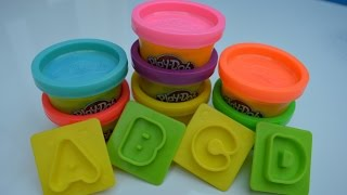 Play Doh Letters Numbers N Fun ABCD Numbers 1 to 10
