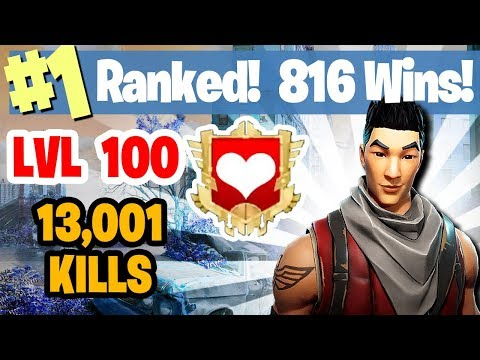#1 World Ranked - 816 Wins - Sponsor Goal 368/400 FORTNITE BATTLE ROYALE LIVESTREAM