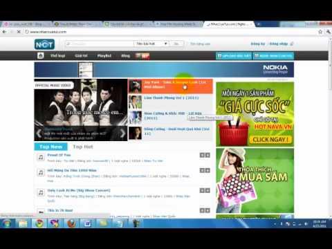 Hướng dẫn upload nhạc lên mạng